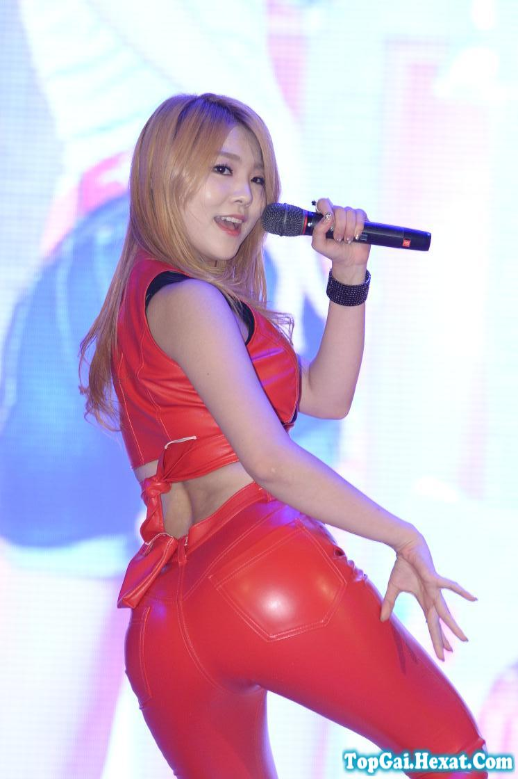 Ảnh gái xinh - sao k-pop khoe mông tổng hợp