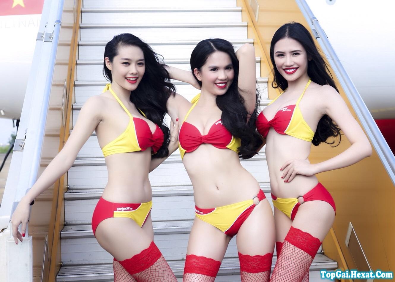 Ảnh quyến rũ nhất của các hot girl Việt thích khoe ngực