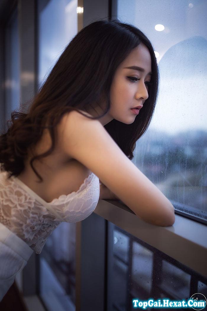 Bộ ảnh buồn của gái xinh gợi cảm quyến rũ