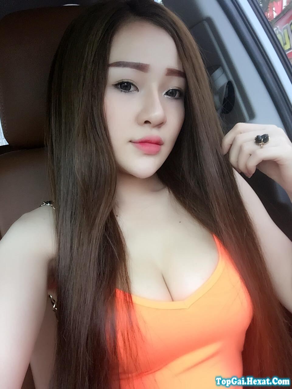 Facebook gái xinh Bình Định: Ngân Ngân Võ Võ thích khoe ngực
