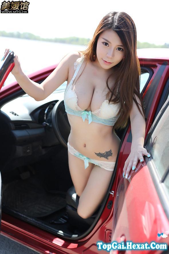 Gái xinh ngực to mặc bikini hình pokemon cực đẹp