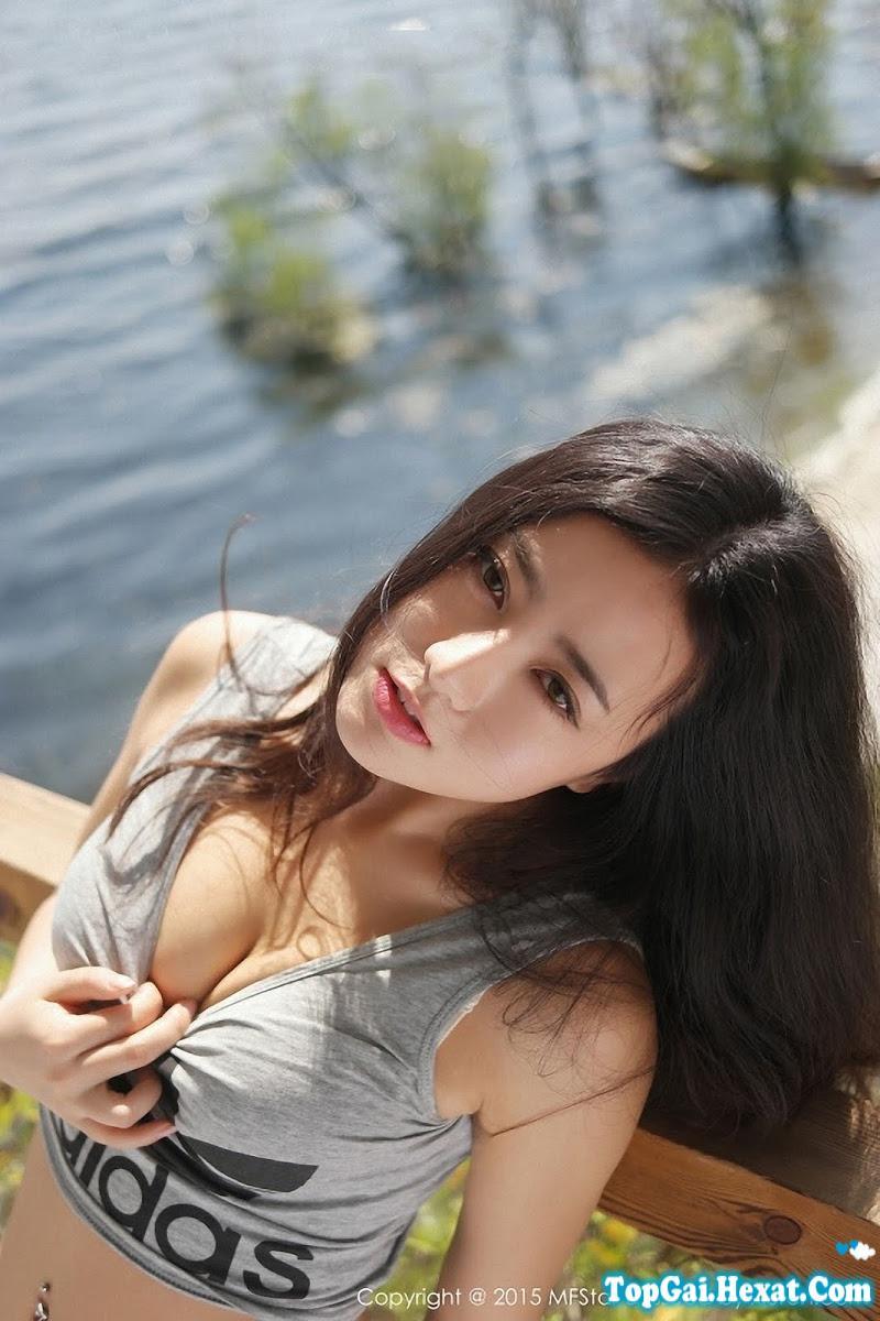 Gái xinh Xiuren tổng hợp ngực to cực dễ thương